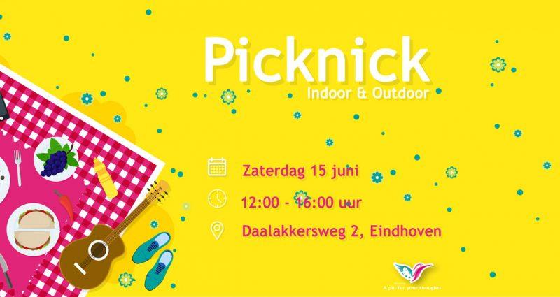 Kom op 15 juni naar onze Indoor & Outdoor Picknick!